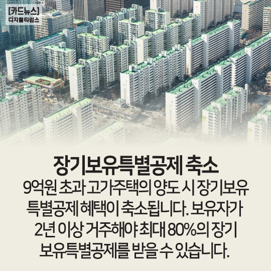 [카드뉴스]2020년 달라지는 부동산 정책